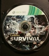 Cabela's Survival: Shadows of Katmai- XBOX 360 in Fort Benning, Georgia
