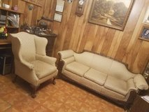 Couch and matching chair in Fort Polk, Louisiana