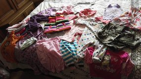 Lot of clothing for baby girl in 0mo.-3mo. in Ramstein, Germany
