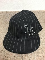 Black LA Fitted Hat (New Without Tag) in 29 Palms, California