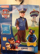 PAW PATROL - Chase Costume 3T-4T (NEW) in Westmont, Illinois