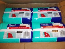**Prevail Adult (Sz: M) Diapers (Case of 4- 20 pk)** in Houston, Texas