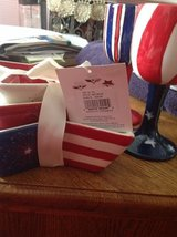 NWT Patriotic Star Dishes and 2 Mugs in Fort Campbell, Kentucky