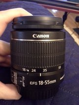 Canon camera zoom lens in Fort Drum, New York