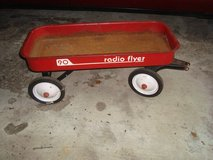 1960's Vintage RADIO FLYER 90 Wagon 34 x 15 x 4 Red  PICKUP JUSTICE ILLINOIS in Bolingbrook, Illinois