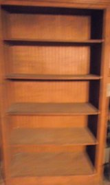 Large Wooden Shelf Unit, Real Wood, Not Fiberboard. in Conroe, Texas