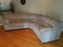 light gray sectional in Nashville, Tennessee