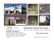 office space and warehouse for rent offices are rented seperately and warehouse in San Diego, California