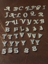 Letter/number mini charms in Fort Campbell, Kentucky