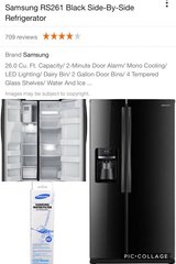 Samsung Side by Side Fridge in Waldorf, Maryland