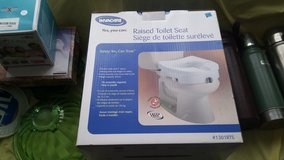 Brand New Raised Toilet Seat still in box in Fort Campbell, Kentucky