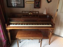 Brambach circa 1955 upright piano in Bartlett, Illinois
