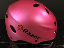 Girls' Pink Razor V17 Multi-sport Helmet - size medium for age 8+ in Shorewood, Illinois