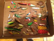 Lot of Fishing Lures Vintage to Current in Naperville, Illinois