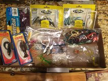 Misc Fishing Gear Mostly new in packages- Lot in Naperville, Illinois