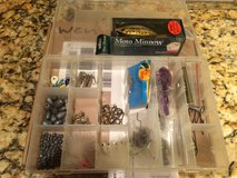 Misc Fishing gear including Moto Minnow & Bass ProShop Case- Lot in Naperville, Illinois