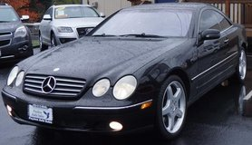 2002 Mercedes-Benz CL-Class CL500 Coupe w/ SUPER LOW miles !!! in Tacoma, Washington