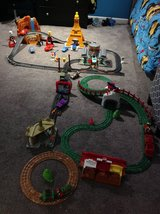 Geo Trax Disney Pixars Cars McQueen Lot in Fort Campbell, Kentucky
