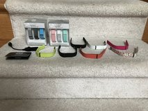 REDUCED! Fitbit Flex, charger, 12 small wristbands, 1 large wristband in Aurora, Illinois