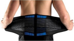 Brand new Secure Double-Pull Neoprene Lumbar Support Belt, X-Large (38-42''/96-106cm) in Sugar Grove, Illinois