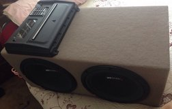 "12"" MB Quart Subwoofers w/cables in Temecula, California"