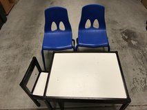 Kids chairs/table in Fort Irwin, California