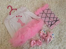 1st Birthday Outfit Set size 12months in Fort Campbell, Kentucky