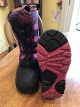 Girls Kamik Purple and Black Winter/Snow Boots - Size 13 in St. Charles, Illinois