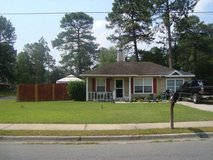 3 bedroom 2 bath corner lot with fenced side/back yard in Hinesville, Georgia
