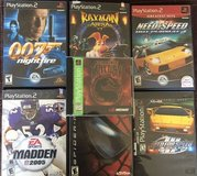 16 ps1 ps2 and psp Games in Camp Pendleton, California