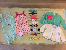 Baby Girl Clothing Lot 3 - 12 month in Conroe, Texas