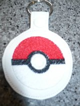 Pokeball key fobs NEW in Glendale Heights, Illinois