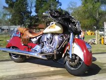 2015 Indian chieftain classic in Conroe, Texas
