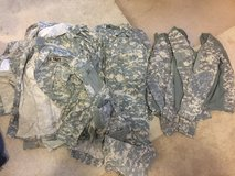 Acu tops and bottoms in Fort Benning, Georgia