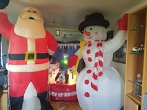 3 large inflatable Christmas yard ornament in Lawton, Oklahoma
