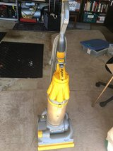 Dyson DC07 Bagless Upright Vacuum Cleaner Yellow No Attachments in Columbus, Georgia