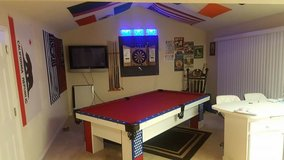 "9""pool table in Travis AFB, California"