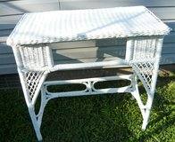 Wicker table in Fort Campbell, Kentucky