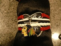 Blackhawks bracelet NEW in Plainfield, Illinois
