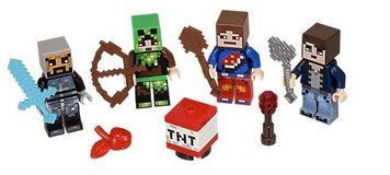 Lego Minecraft Skin Pack 1 (HARD TO GET) in Camp Lejeune, North Carolina
