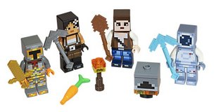 Lego Minecraft Skin Pack 2 (HARD TO GET) in Camp Lejeune, North Carolina
