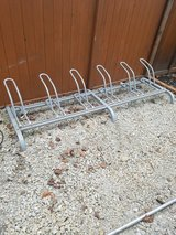 Heavy duty bike rack for six bikes in Chicago, Illinois