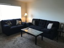 Complete living room set and futon bed in 29 Palms, California