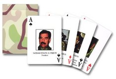 Iraq Most Wanted Playing Cards in 29 Palms, California