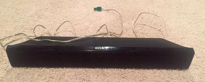 Sony Subwoofer and Center Speaker in Fort Leonard Wood, Missouri