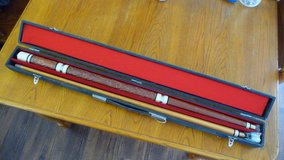 Billiard Cue stick and case in Okinawa, Japan