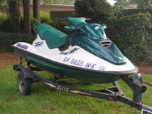 Sea-Doo GTX 1997 with trailer in Warner Robins, Georgia