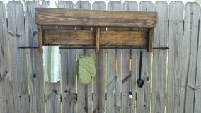 Towel rack or grill caddy in Perry, Georgia