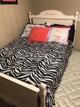 Bed with trundle and dresser/nightstand (ask for pics) in Naperville, Illinois