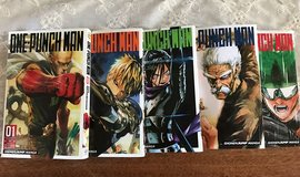 One-Punch Man Volumes 1-5. Like new Condition. in Macon, Georgia
